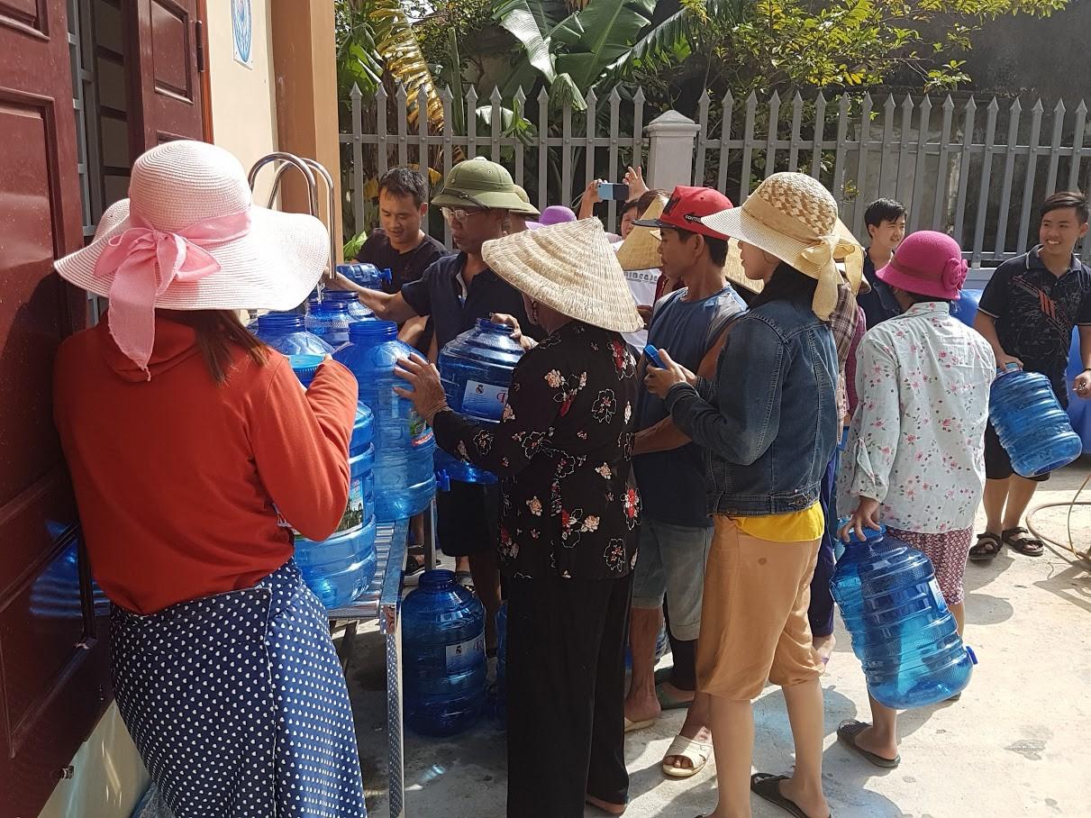 acqua potabile vietnam